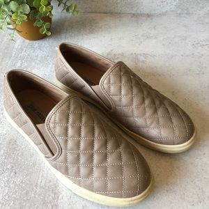 Steve Madden quilted sneakers .